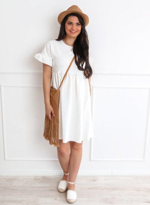 Sukienka Riesi biała 3