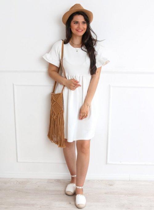 Sukienka Riesi biała 5