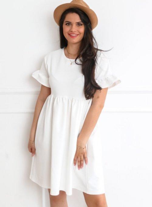 Sukienka Riesi biała 1