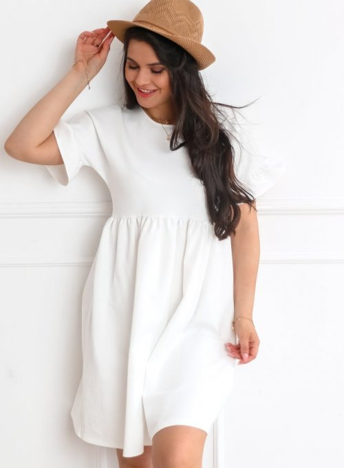Sukienka Riesi biała 6