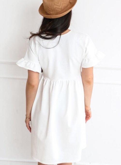 Sukienka Riesi biała 2
