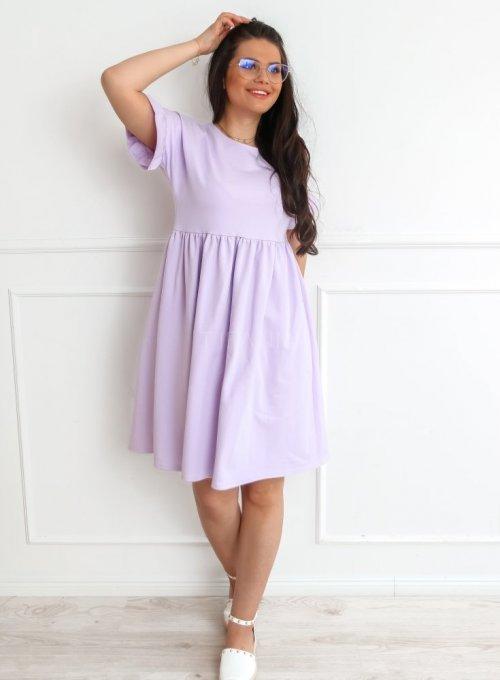 Sukienka Riesi liliowa 3