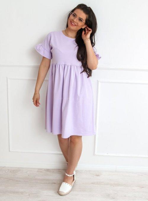 Sukienka Riesi liliowa 1