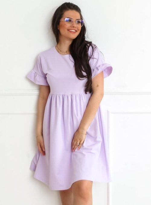 Sukienka Riesi liliowa 4
