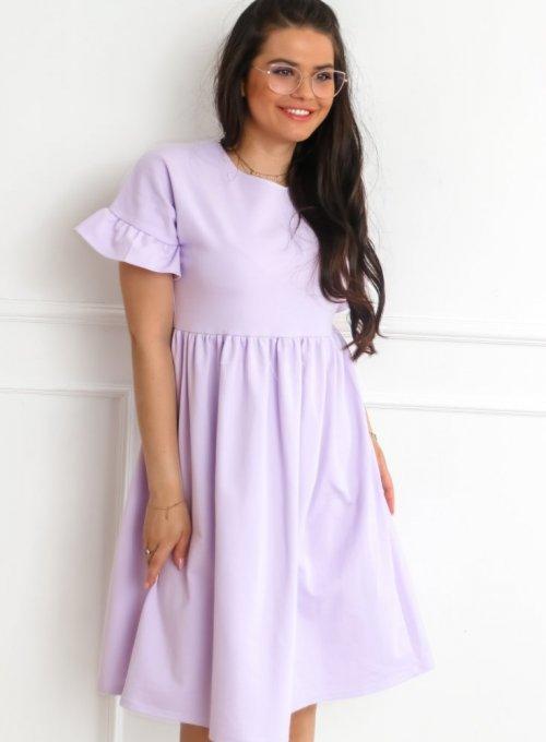 Sukienka Riesi liliowa 5