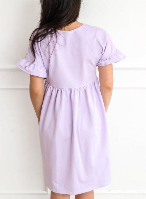 Sukienka Riesi liliowa 2