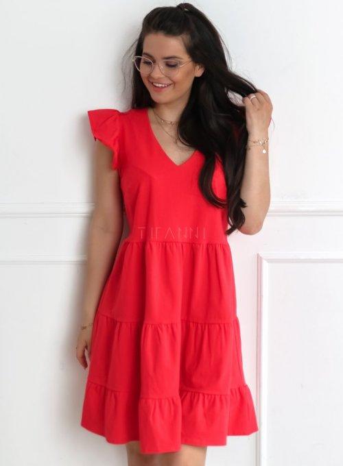 Sukienka Piana czerwona