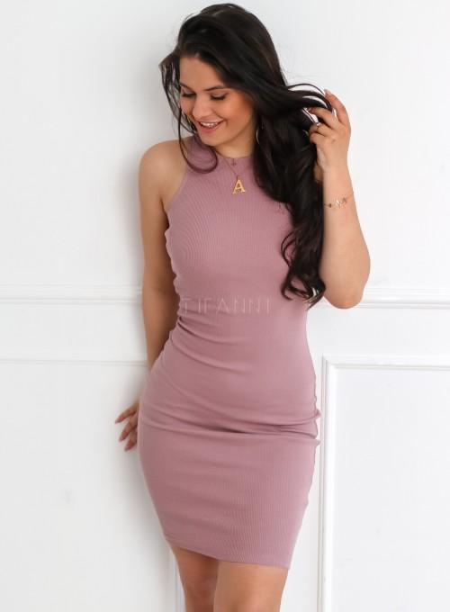 Sukienka Parma w kolorze pudrowym