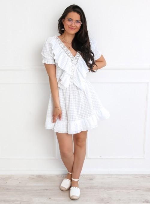 Sukienka Ales biała 2