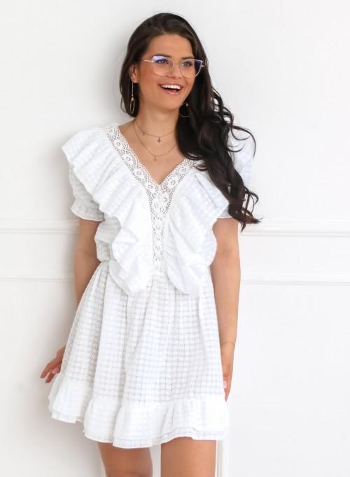 Sukienka Ales biała 3