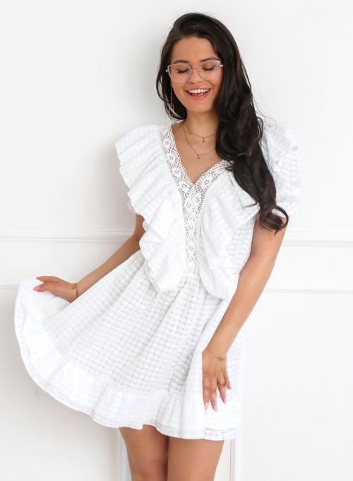 Sukienka Ales biała 4