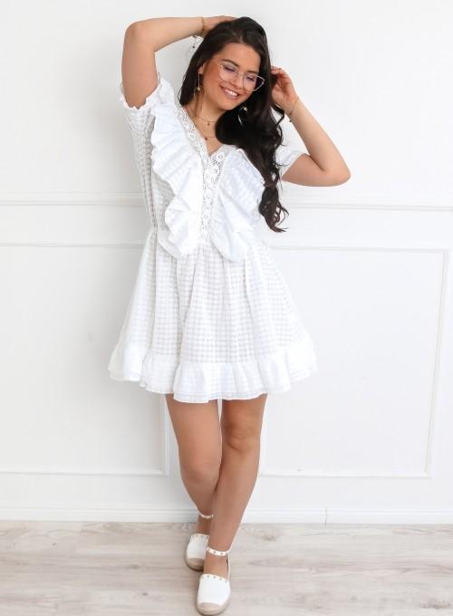 Sukienka Ales biała 5