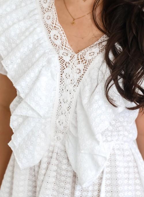 Sukienka Ales biała 1