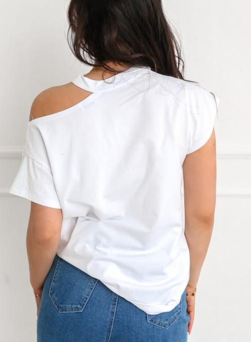 T-shirt Celesta biały 6