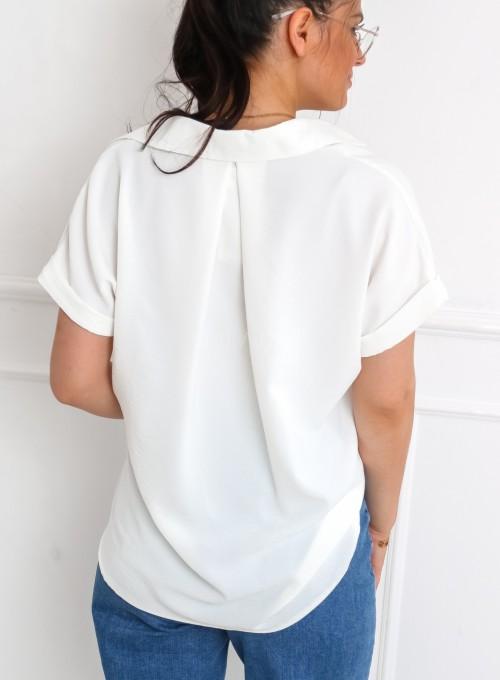 Koszula Salvano śmietankowa 6