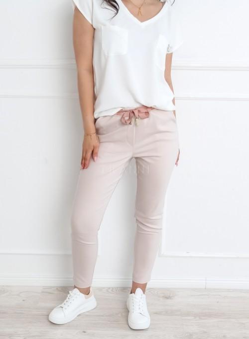 Spodnie Liverno beżowe