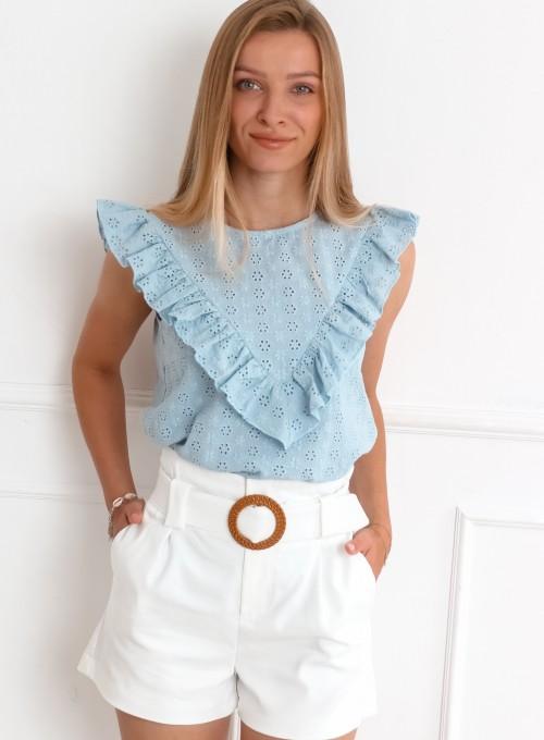 Bluzka Nica błękit popielaty