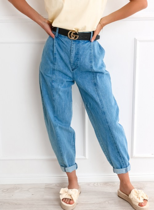 Spodnie jeansowe slouchy Vigo