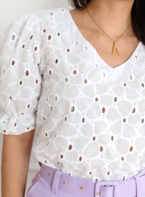Bluzka Brenda Biała 1