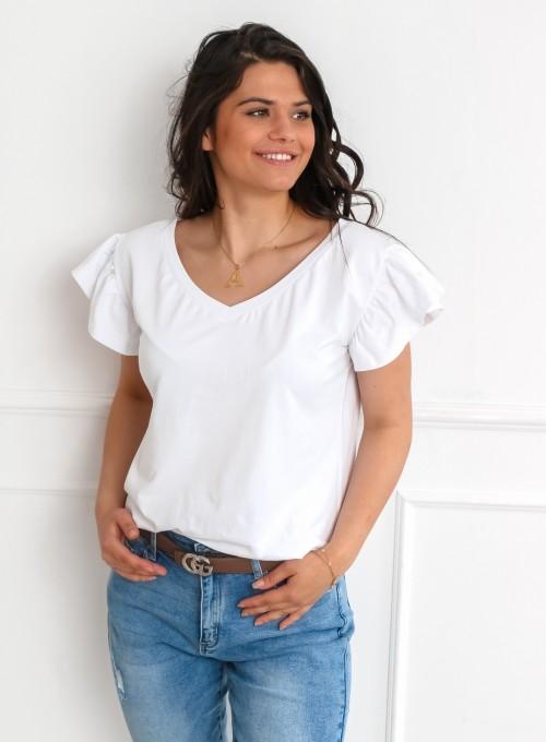 T-shirt Nomi biały