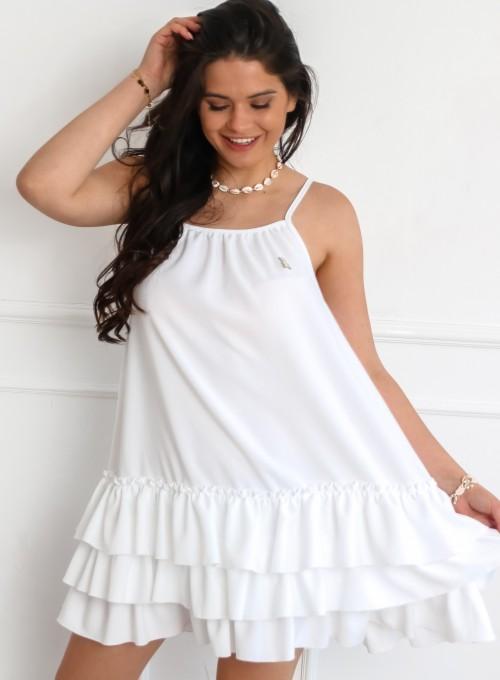 Sukienka Debi w kolorze białym