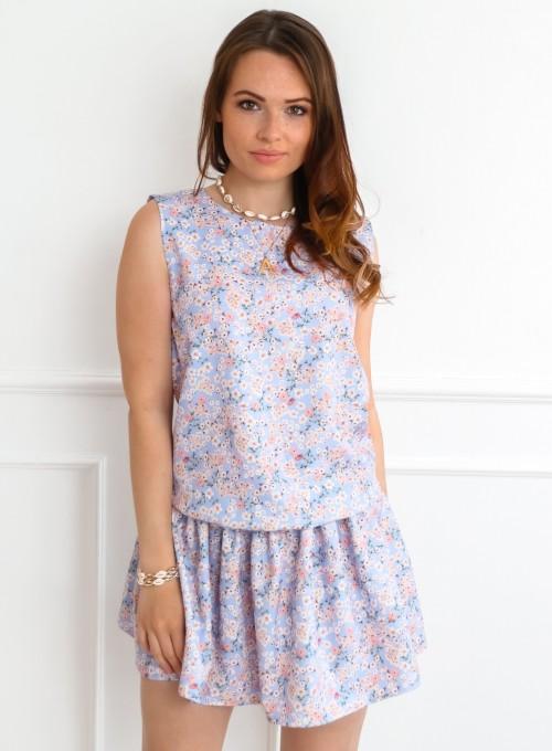Sukienka Sophi liliowa łączka 4