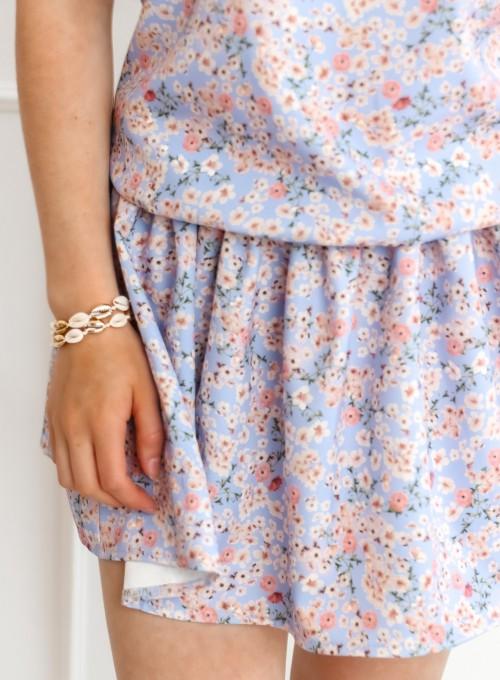 Sukienka Sophi liliowa łączka 5