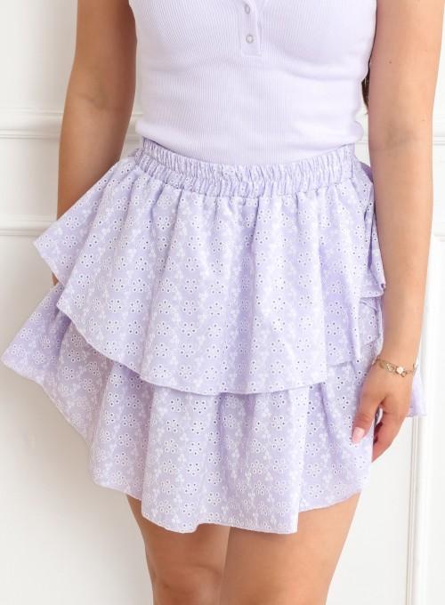 Spódnica Miranda liliowa