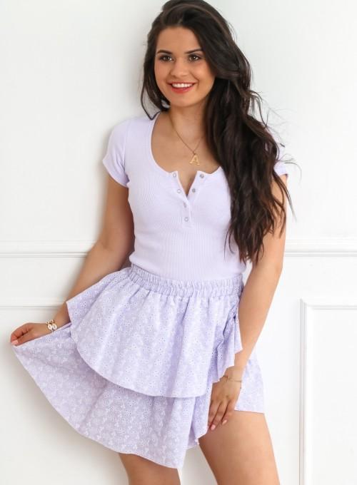 Spódnica Miranda liliowa 1