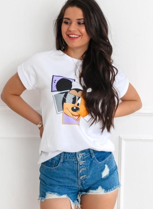 T-shirt Lou biały 2