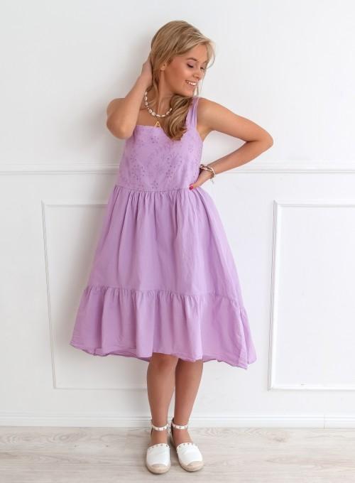 Sukienka Letty fioletowa
