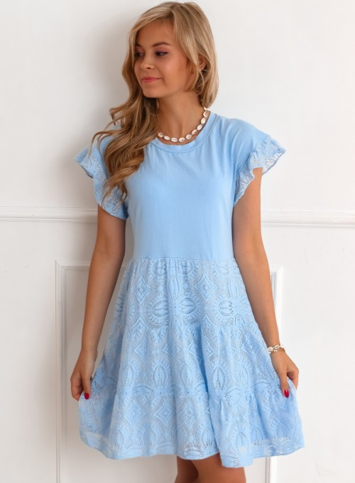 Sukienka Lalu błękitna