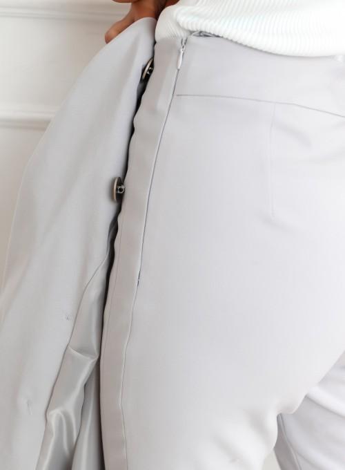 Szare spodnie cygaretki - LEMI 5
