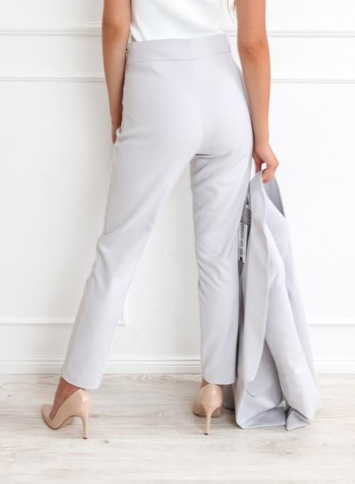 Szare spodnie cygaretki - LEMI 6