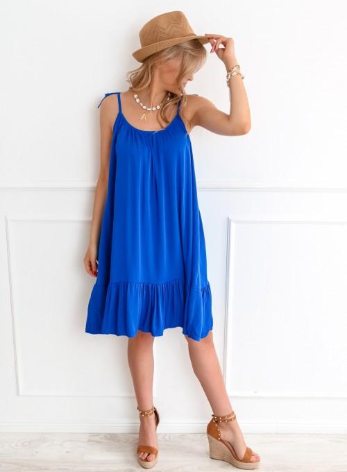 Sukienka Doris kobalt