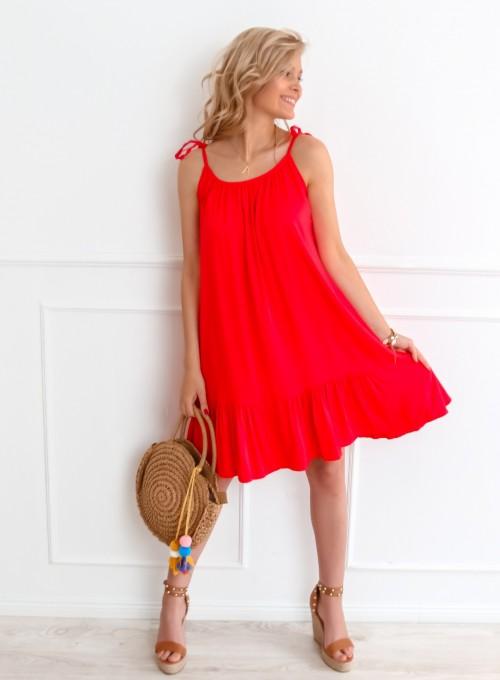 Sukienka Doris czerwona