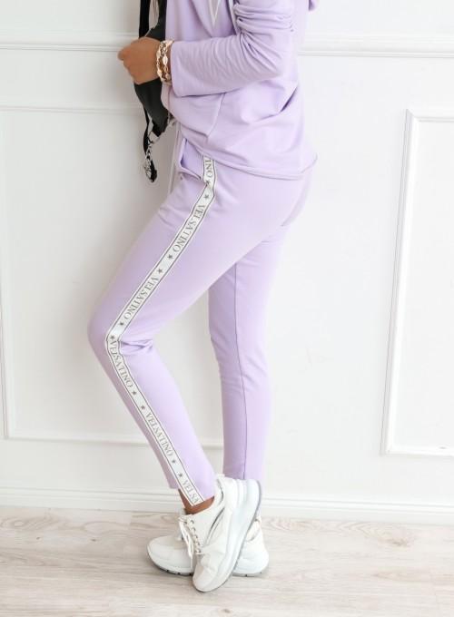 Spodnie Dresowe Giacema liliowe