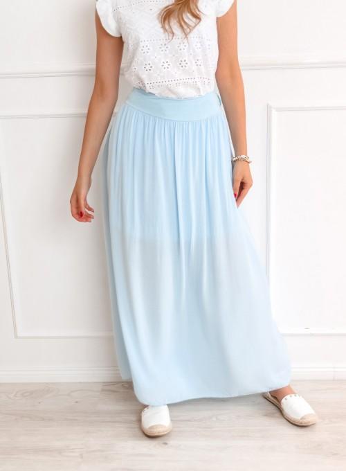 Spódnica Havi błękitna