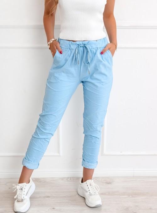 Spodnie Pistone błękitne