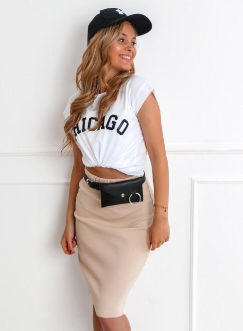 T-shirt CHICAGO biały 5