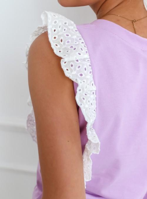 Bluzka Molly liliowy 6