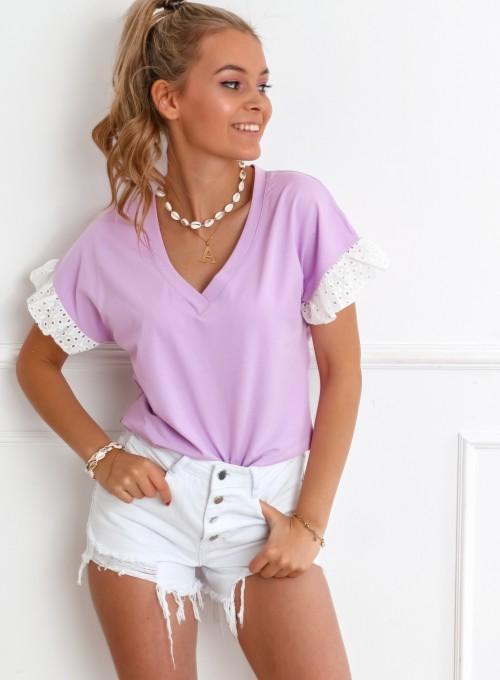 Bluzka Sempre liliowa