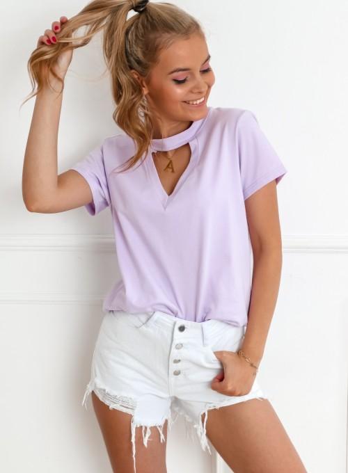 T-shirt Toni liliowy