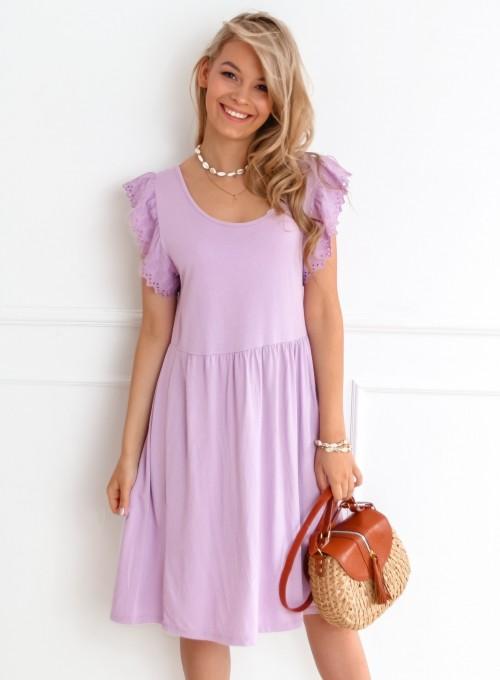 Sukienka Mally liliowa