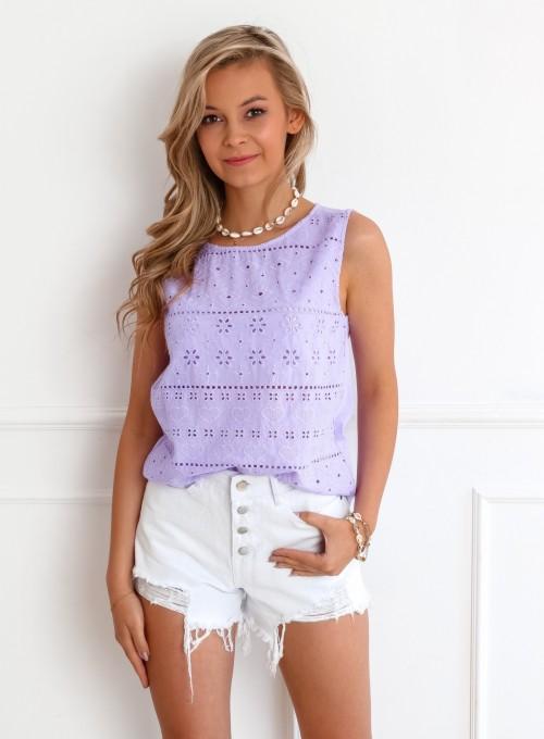 Bluzka Osti liliowa