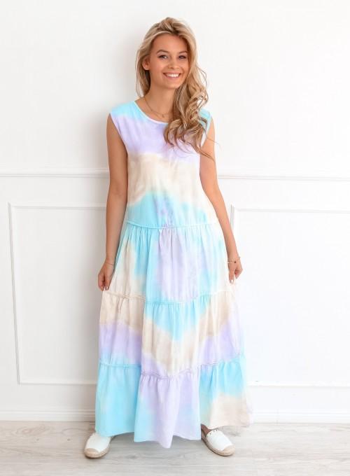 Sukienka Rainbow maxi