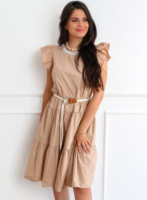 Sukienka California beżowa