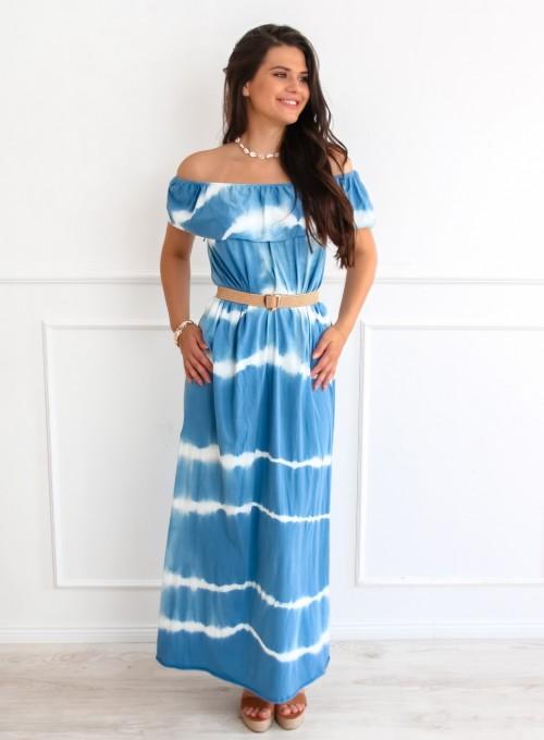 Sukienka Storm maxi blue jeans
