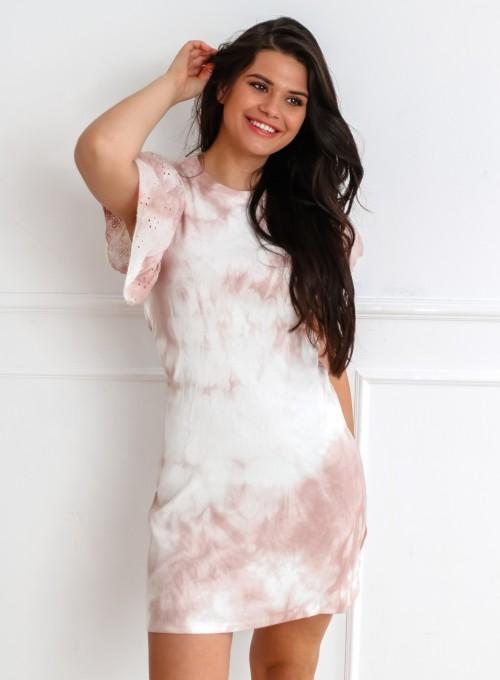 Sukienka Blanca pudrowa 3