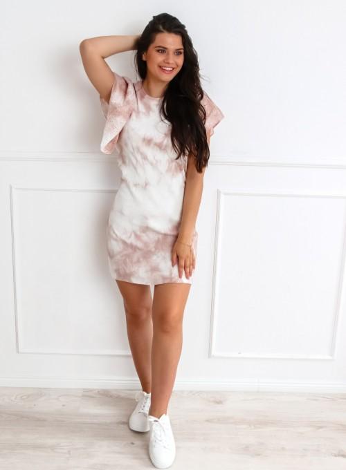 Sukienka Blanca pudrowa 4
